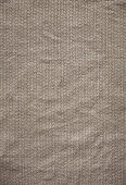 A brown linen fabric background