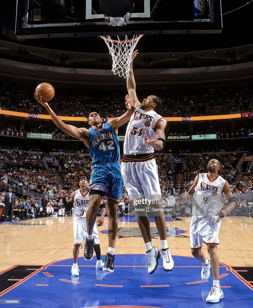 New Orleans Hornets v Philadelphia 76ers s and