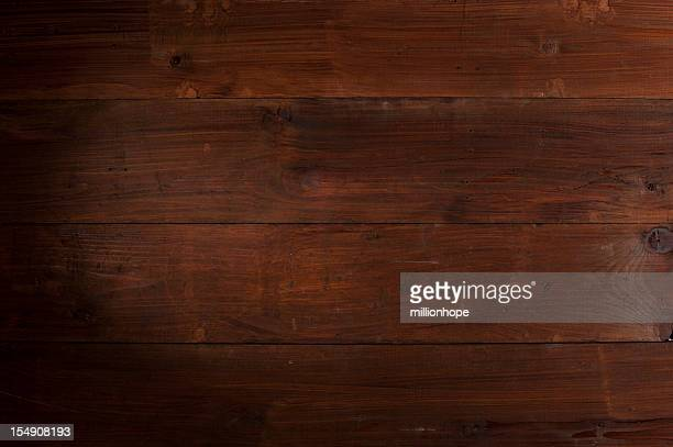 Brown painted wooden planks background