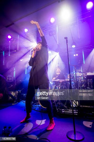 Brown performs at Senate House as part of the annual Arthur's Day celebrations on September 27 2012 in London England Arthur's Day sees fans come...