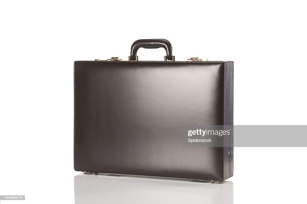Brown Retro Briefcase