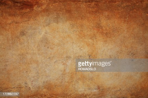 Brown Roman grunge wall texture background, Rome Italy