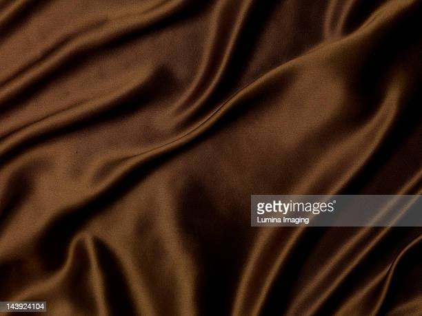 Brown Silk Fabric
