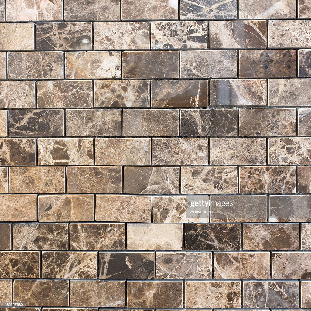 Brown tile texture and backgroud. : Stock Photo