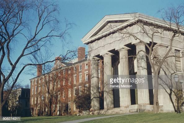 Brown University Rhode Island USA circa 1960