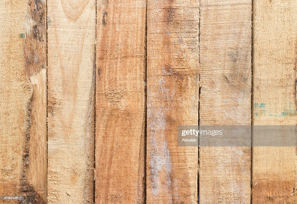 Brown wood plank wall texture : Stock Photo