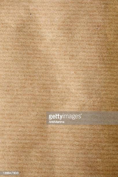 brown wrapping paper as background