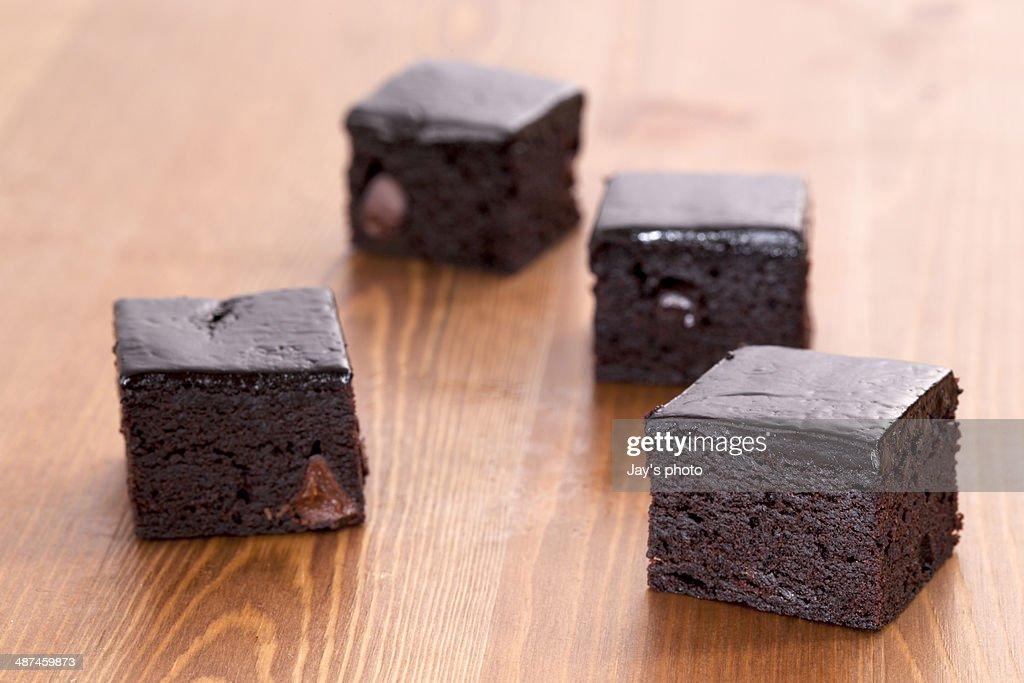 Brownie : Stock Photo