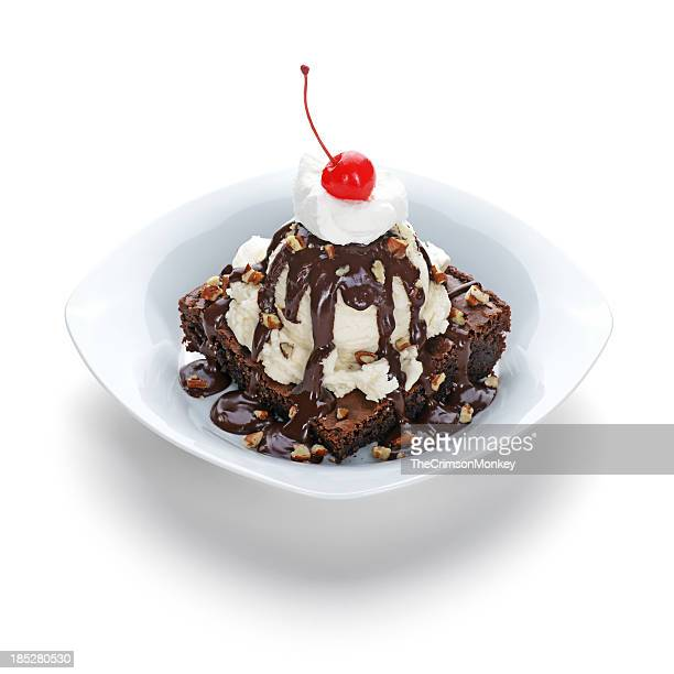Brownie Sundae