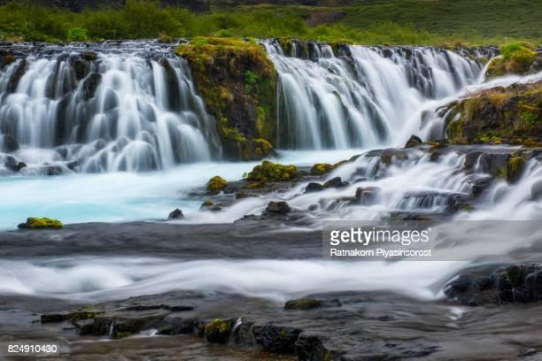 Bruarfoss Waterfall, Iceland