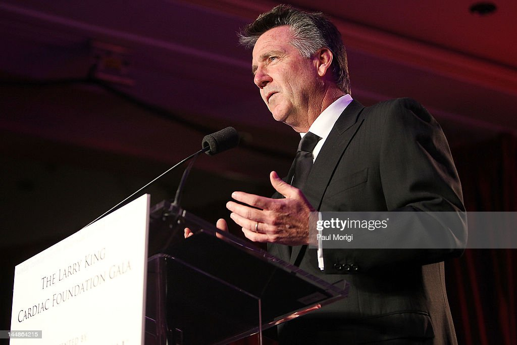 Bruce Allen of the Washington Redskins speaks during the 18th Annual Larry King Cardiac Foundation Gala at Ritz Carlton Hotel on May 19, 2012 in Washington, DC.