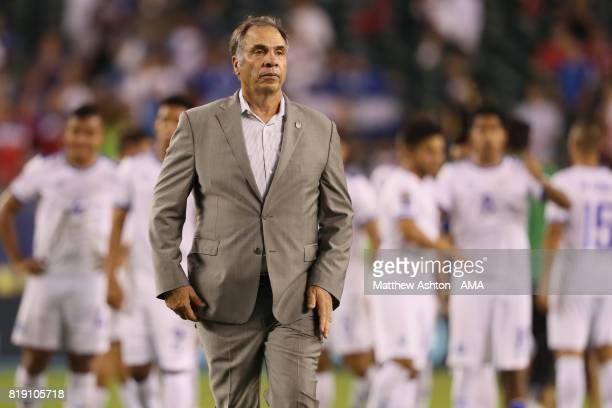 Bruce Arena the head coach / manager of United States of America during the 2017 CONCACAF Gold Cup Quarter Final match between United States of...