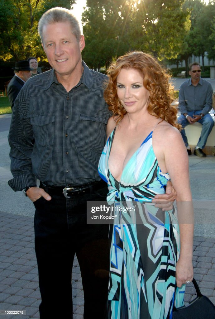 <a gi-track='captionPersonalityLinkClicked' href=/galleries/search?phrase=Bruce+Boxleitner&family=editorial&specificpeople=221415 ng-click='$event.stopPropagation()'>Bruce Boxleitner</a> and wife Mellissa Gilbert during Season Four Premiere Screening Of 'Nip/Tuck' - Arrivals at Paramount Studios in Los Angeles, California, United States.
