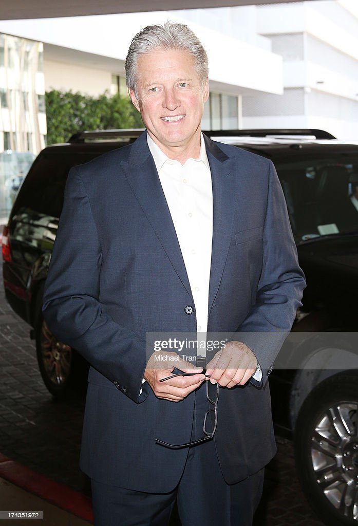 <a gi-track='captionPersonalityLinkClicked' href=/galleries/search?phrase=Bruce+Boxleitner&family=editorial&specificpeople=221415 ng-click='$event.stopPropagation()'>Bruce Boxleitner</a> arrives at the Television Critic Association's Summer press tour - Hallmark Channel & Hallmark Movie Channel event held at The Beverly Hilton Hotel on July 24, 2013 in Beverly Hills, California.