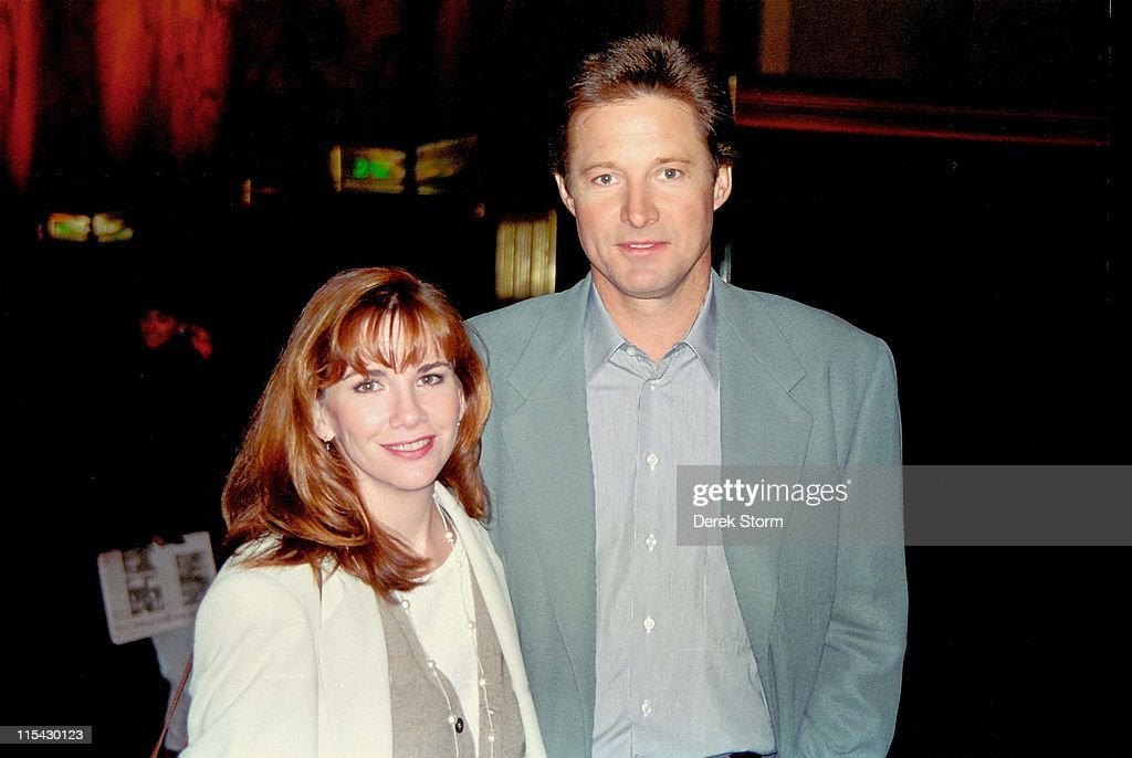 <a gi-track='captionPersonalityLinkClicked' href=/galleries/search?phrase=Bruce+Boxleitner&family=editorial&specificpeople=221415 ng-click='$event.stopPropagation()'>Bruce Boxleitner</a> & <a gi-track='captionPersonalityLinkClicked' href=/galleries/search?phrase=Melissa+Gilbert&family=editorial&specificpeople=203284 ng-click='$event.stopPropagation()'>Melissa Gilbert</a> during <a gi-track='captionPersonalityLinkClicked' href=/galleries/search?phrase=Bruce+Boxleitner&family=editorial&specificpeople=221415 ng-click='$event.stopPropagation()'>Bruce Boxleitner</a> & <a gi-track='captionPersonalityLinkClicked' href=/galleries/search?phrase=Melissa+Gilbert&family=editorial&specificpeople=203284 ng-click='$event.stopPropagation()'>Melissa Gilbert</a> sighting in midtown - March 16, 1994 at Streets Of New Yorm City in New York City, New York, United States.