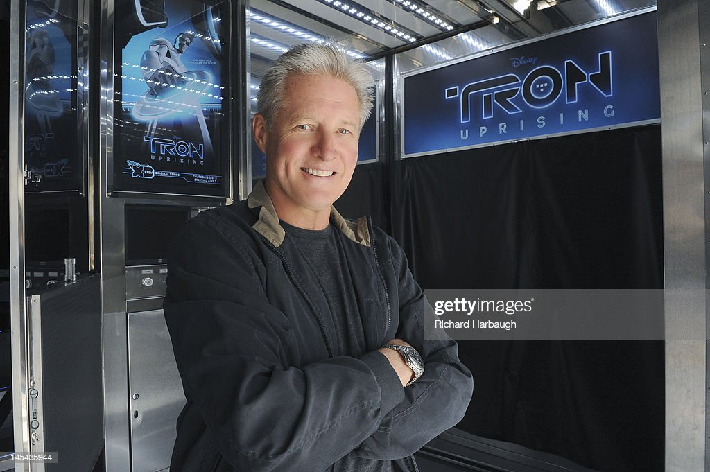 UPRISING - Bruce Boxleitner ('Tron') unveils 'TRON: Uprising' state of the art theatre on wheels screenings at Hollywood & Highland on Saturday, May 26. BOXLEITNER