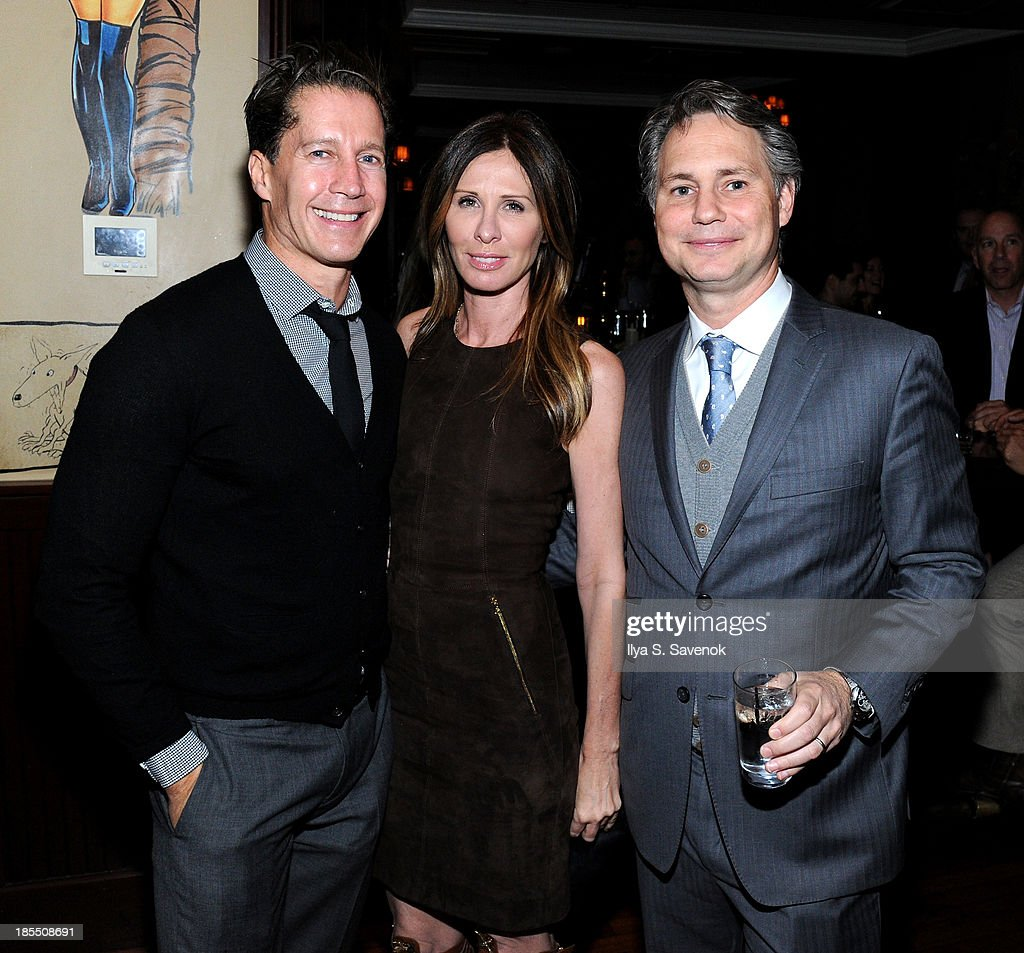 Bruce Bozzi Jr., Carole Radziwill, and <a gi-track='captionPersonalityLinkClicked' href=/galleries/search?phrase=Jason+Binn&family=editorial&specificpeople=204684 ng-click='$event.stopPropagation()'>Jason Binn</a> attend DuJour's <a gi-track='captionPersonalityLinkClicked' href=/galleries/search?phrase=Jason+Binn&family=editorial&specificpeople=204684 ng-click='$event.stopPropagation()'>Jason Binn</a>'s welcoming NY Nets Star Paul Pierce To NYC event on October 21, 2013 in New York City.