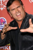 Bruce Campbell arrives at the 2007 Spike TV Scream Awards at The Greek Theater on October 19 2007 in Los Angeles California