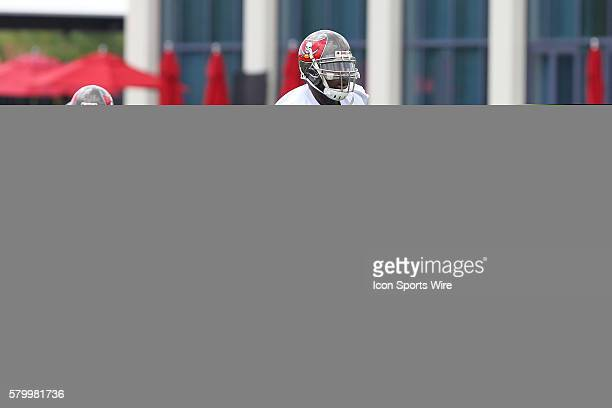 Bruce Carter during the Buccaneers OTA at One Buccaneer Place in Tampa Florida