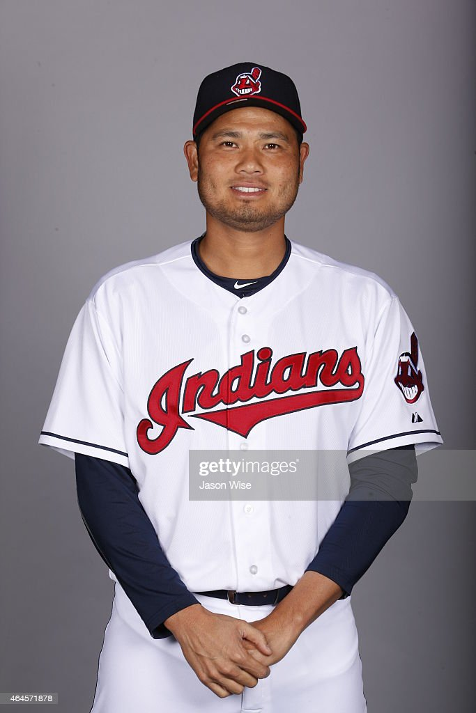 <a gi-track='captionPersonalityLinkClicked' href=/galleries/search?phrase=Bruce+Chen&family=editorial&specificpeople=213886 ng-click='$event.stopPropagation()'>Bruce Chen</a> #52 of the Cleveland Indians poses during Photo Day on Thursday, February 26, 2014 at Goodyear Ballpark in Goodyear, Arizona.