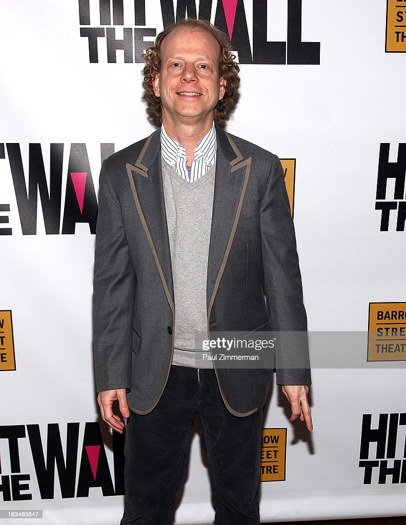 <a gi-track='captionPersonalityLinkClicked' href=/galleries/search?phrase=Bruce+Cohen&family=editorial&specificpeople=820103 ng-click='$event.stopPropagation()'>Bruce Cohen</a> attends the 'Hit The Wall' Off Broadway opening night at the Barrow Street Theatre on March 10, 2013 in New York City.