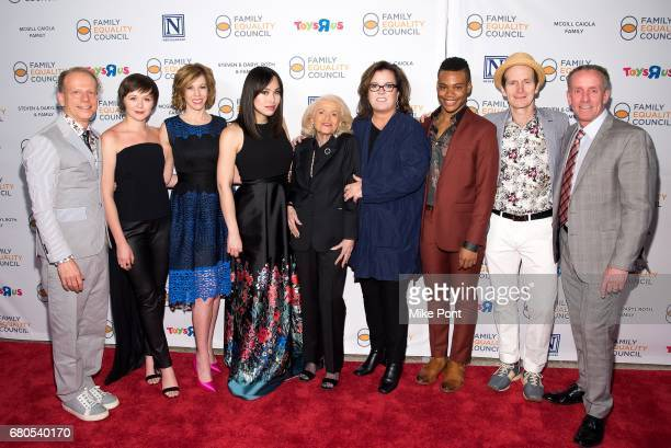 Bruce Cohen Emily Skeggs Maddie Corman Ivory Aquino Edie Windsor Rosie O'Donnell Justin Sams Denis O'Hare and Stan Sloan attend the 2017 Family...