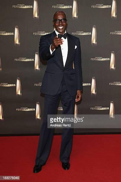 Bruce Darnell arrives for the German TV Award 2012 at Coloneum on October 2 2012 in Cologne Germany