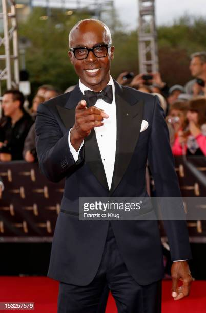 Bruce Darnell attends the German TV Awards 2012 at Coloneum on October 2 2012 in Cologne Germany