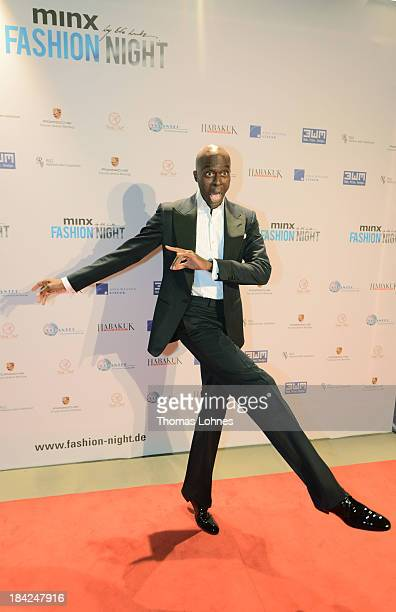 Bruce Darnell poses during the Minx fashion night at Residenz on October 12 2013 in Wuerzburg Germany The benefit of the charity gala is for the aid...