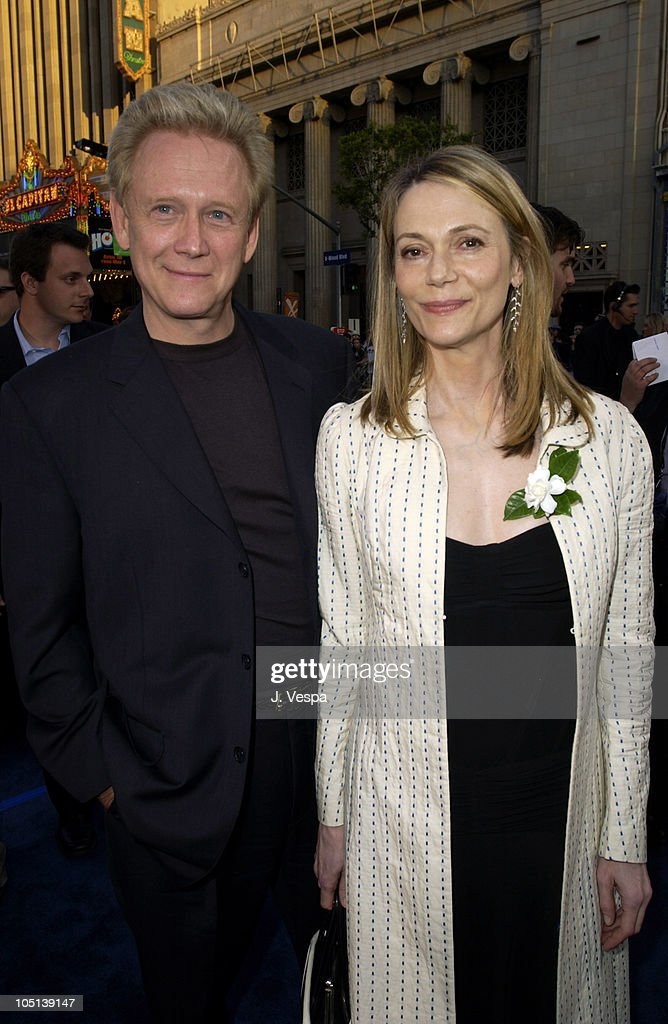 Bruce Davison and Peggy Lipton during 'X2: X-Men United' Premiere Los Angeles - Blue Carpet Arrivals at Grauman's Chinese Theatre in Hollywood, California, United States.