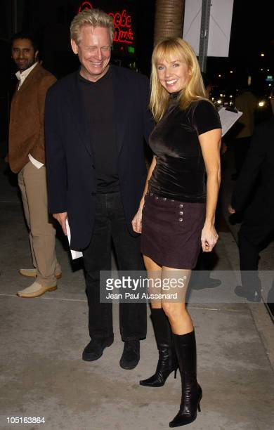 Bruce Davison and Rebecca De Mornay during 'Runaway Jury' World Premiere at Cinerama Dome in Hollywood California United States