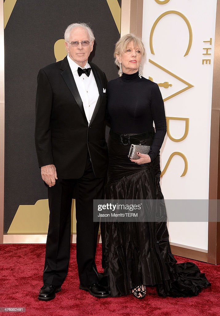 Bruce Dern and Andrea Beckett attend the Oscars held at Hollywood & Highland Center on March 2, 2014 in Hollywood, California.