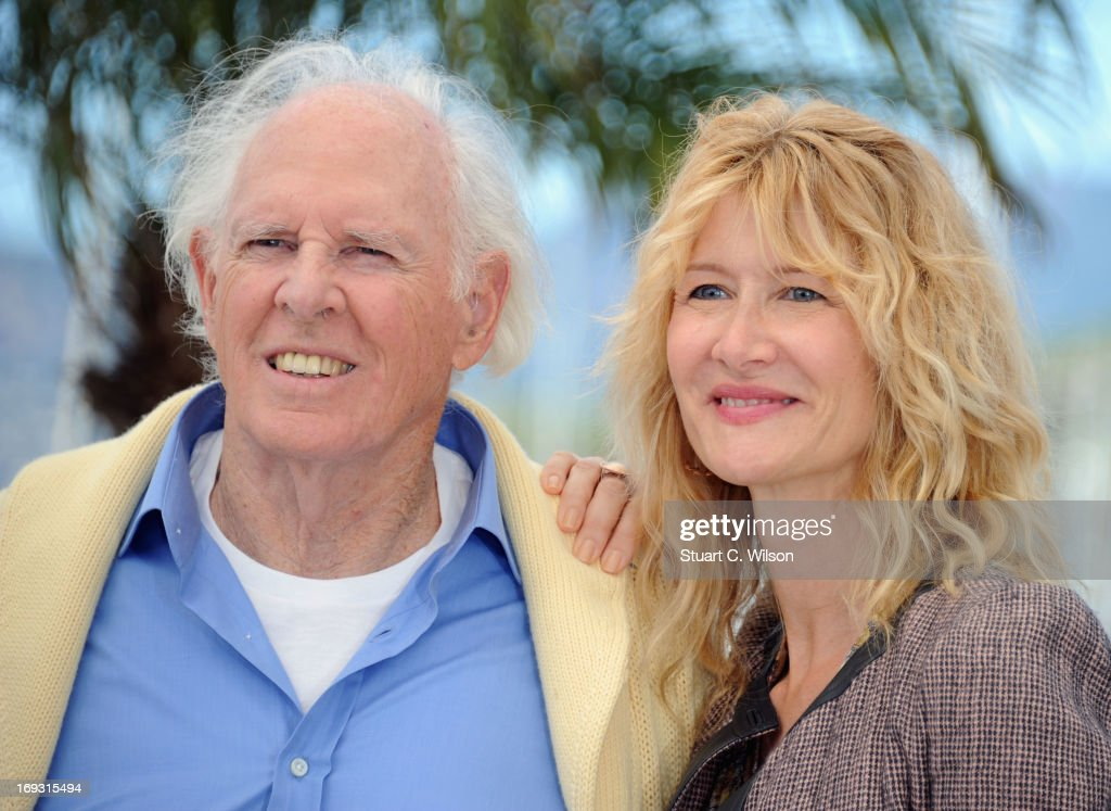 <a gi-track='captionPersonalityLinkClicked' href=/galleries/search?phrase=Bruce+Dern&family=editorial&specificpeople=239171 ng-click='$event.stopPropagation()'>Bruce Dern</a> and <a gi-track='captionPersonalityLinkClicked' href=/galleries/search?phrase=Laura+Dern&family=editorial&specificpeople=204203 ng-click='$event.stopPropagation()'>Laura Dern</a> attens the Photocall for 'Nebraska' during The 66th Annual Cannes Film Festival at the Palais des Festival on May 23, 2013 in Cannes, France.