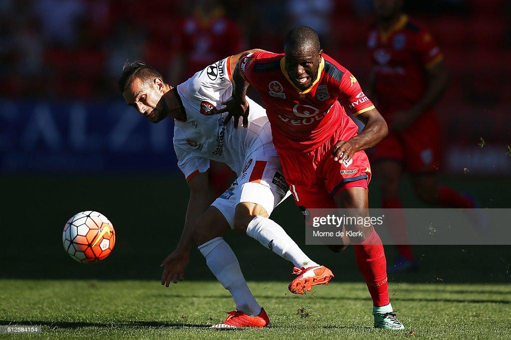 A-League Rd 21 - Adelaide v Brisbane