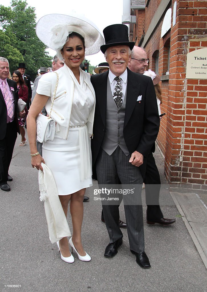 Celebrity Sightings At Ascot - June 20, 2013