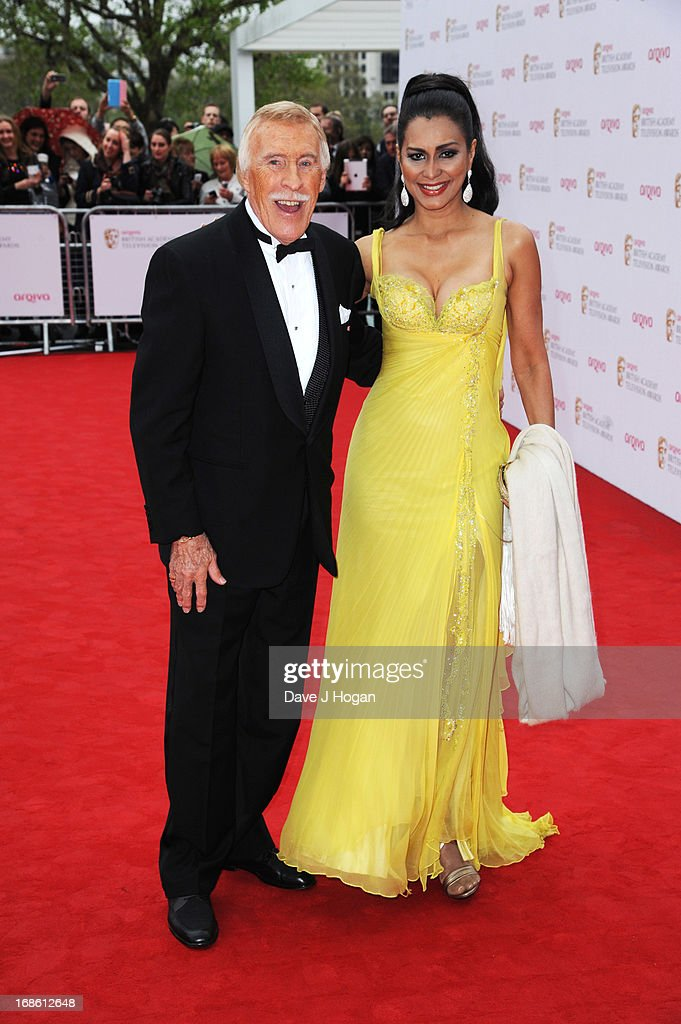 Bruce Forsyth attends the BAFTA TV Awards 2013 at The Royal Festival Hall on May 12, 2013 in London, England.