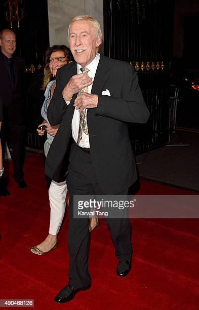 Bruce Forsyth attends the Pride of Britain awards at The Grosvenor House Hotel on September 28 2015 in London England