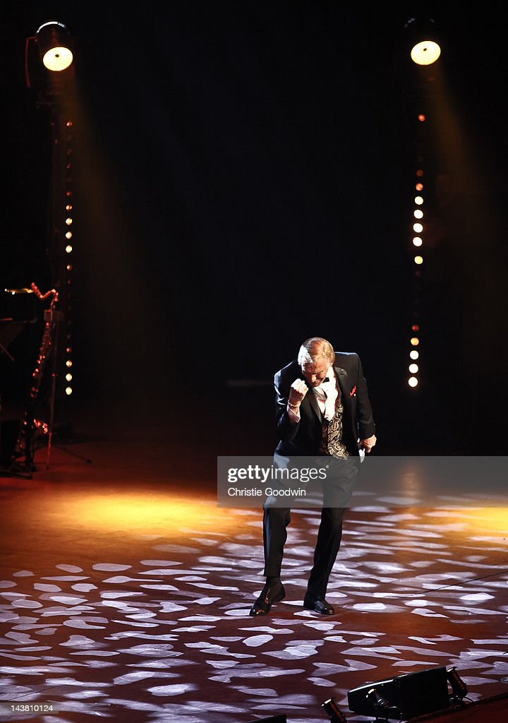 Bruce Forsyth performs on stage at Royal Albert Hall on May 3, 2012 in London, United Kingdom.