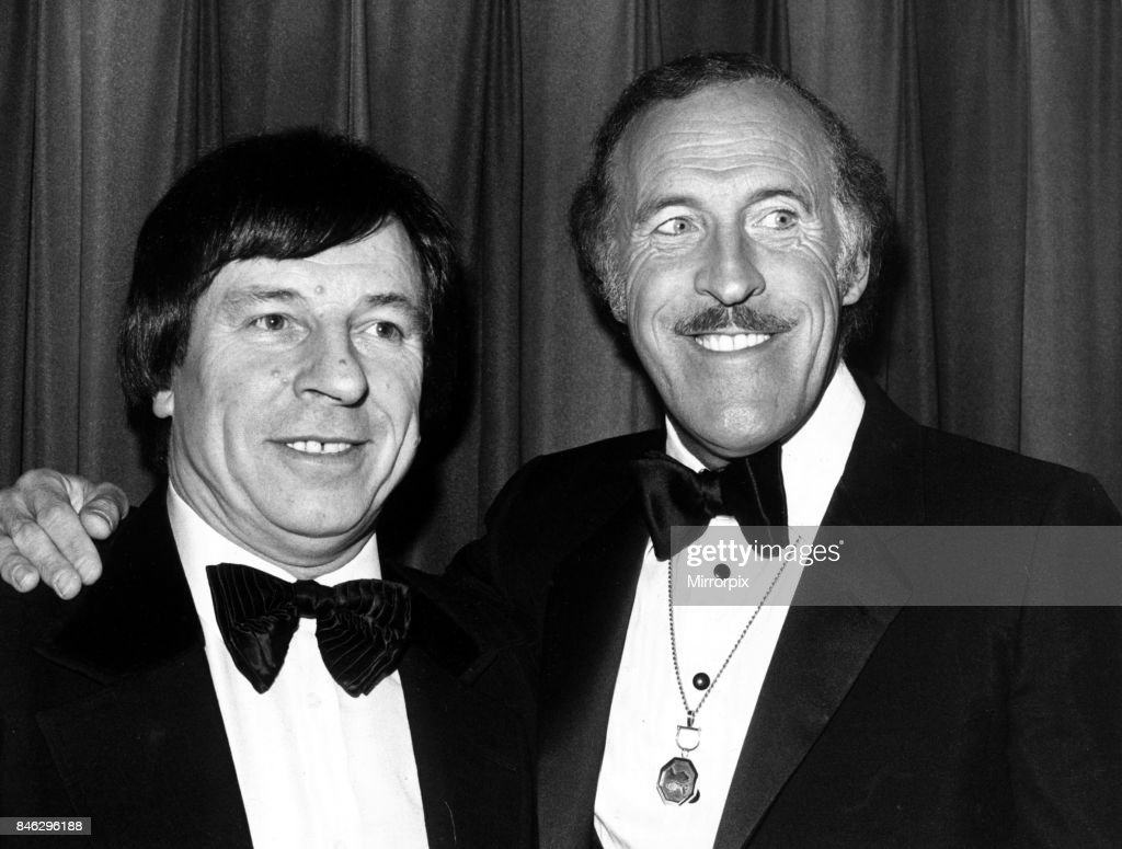 Bruce Forsyth pictured with Lakeside Club owner Bob Potter, February 1982.