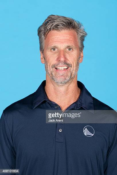 Bruce Fraser of the Golden State Warriors poses for a photo during Media Day on September 29 2014 at the Warriors practice facility in Oakland...