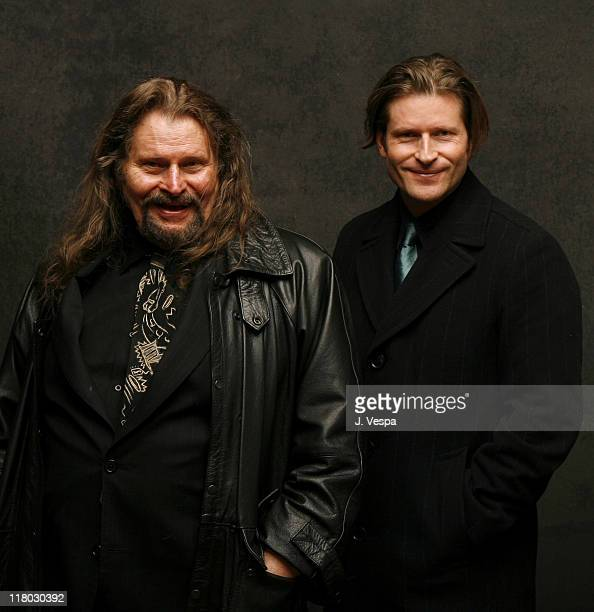 Bruce Glover and Crispin Hellion Glover Director/Producer