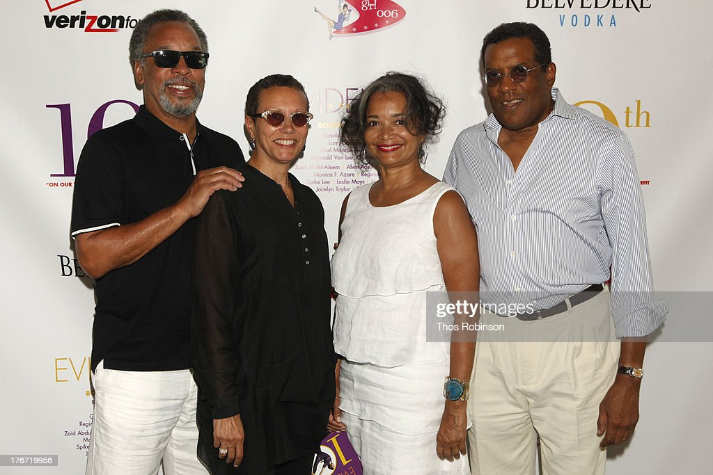 Bruce Gordon, Tawana Tibbs, Jonelle Procope, and Fred Terrell attend Evidence, A Dance Company Hosts 10th Annual 'On Our Toes'... In The Hamptons Summer Benefit at The Hayground School on August 17, 2013 in Bridgehampton, New York.