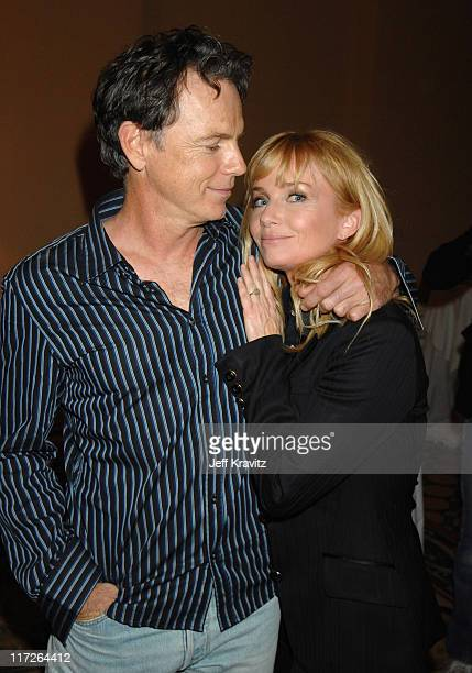 Bruce Greenwood and Rebecca De Mornay of John From Cincinnati