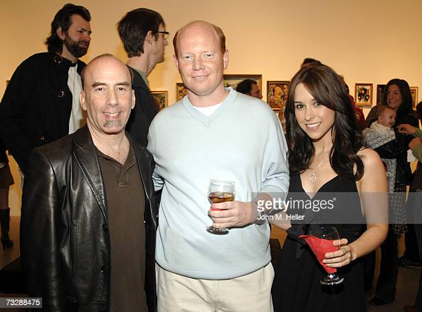 Bruce Helford Aaron Ray and Lacey Chabert attend the 'Charity By Numbers' Benefit For The Alliance For Children's Rights at the Corey Helford Gallery...
