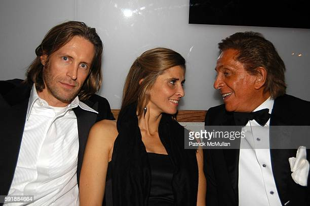 Bruce Hoeksema HRH Princess Rosario SaxeCoburgGotha of Bulgaria and Valentino Garavani attend Valentino Afterparty at The Double Seven on October 27...
