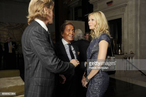 Bruce Hoeksema Valentino Garavani and Gwyneth Paltrow attend Gwyneth Paltrow and VBH's Bruce Hoeksema Host Cocktail Party for Valentino The Last...