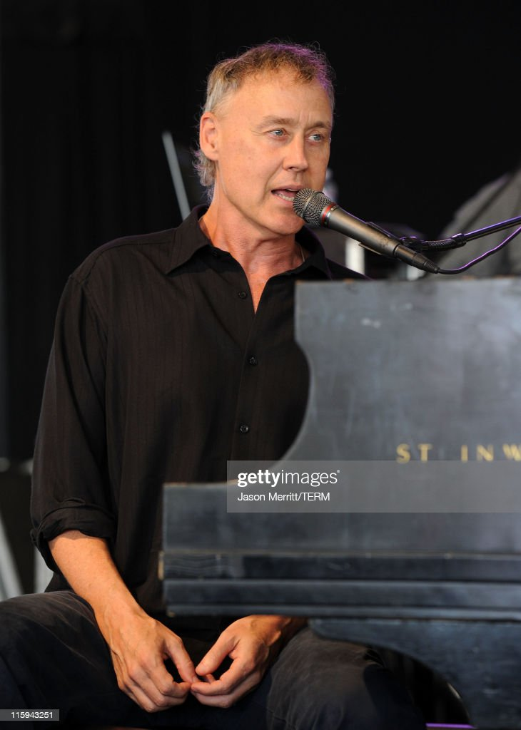 Bruce Hornsby & The Noisemakers perform on stage during Bonnaroo 2011 at That Tent on June 12, 2011 in Manchester, Tennessee.