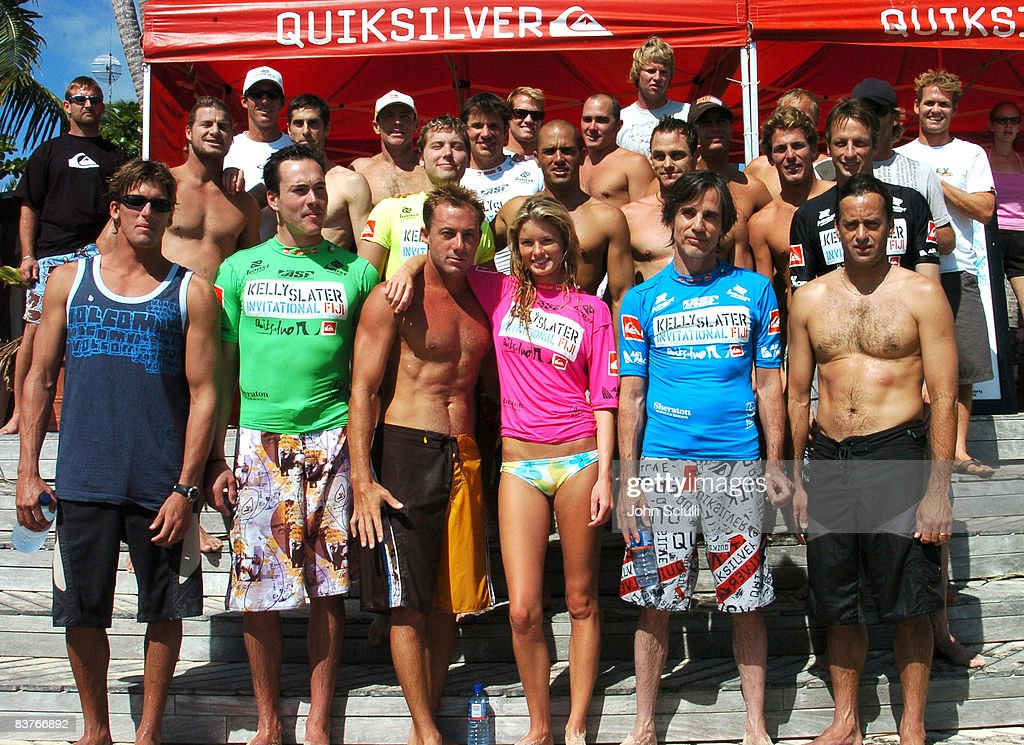 Bruce Irons Chris Klein Doug Silva Marisa Miller Jackson Browne Tom Curren Mark Occhilupo Perry Farrell Lance Bass Kelly Slater Taylor Knox Tony Hawk...