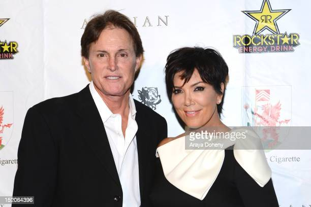 Bruce Jenner and Kris Jenner arrive at the Brent Shapiro Foundation The Summer Spectacular on September 15 2012 in Beverly Hills California