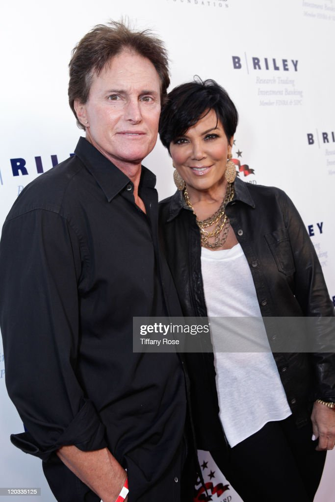 Bruce Jenner and Kris Jenner attend Sugar Ray Leonard's 2nd Annual Charity Boxing Night at the Santa Monica Pier on May 24 2011 in Santa Monica...